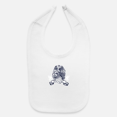 Eagle and shield - Baby Bib