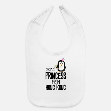 Hong Kong weird Princess from Hong Kong - Baby Bib