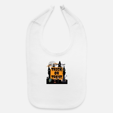 Trick Or Treat trick or treat - Baby Bib