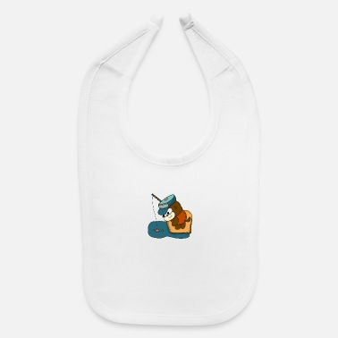 Try Fishing is Lifestyle - Baby Bib