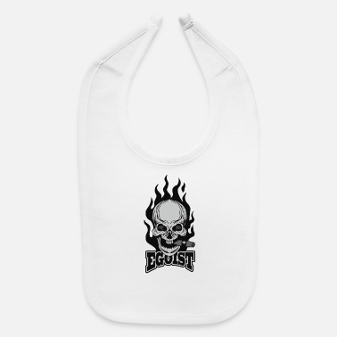 Coat Of Arms Grunge Skull Coat Of Arms - Baby Bib
