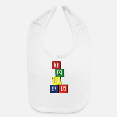 Toy Toy Blocks - Baby Bib