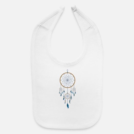 Indian Baby Clothing - indian indianer american tent zelt teepee tomahawk - Baby Bib white