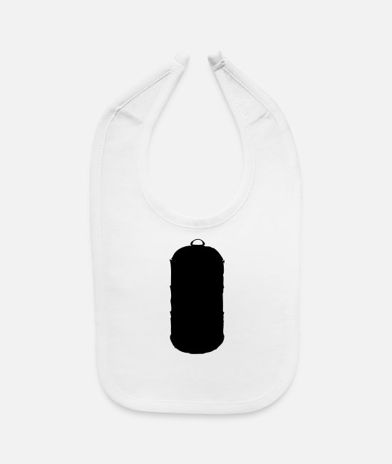 Bbq Baby Clothing - bbq smoker - Baby Bib white