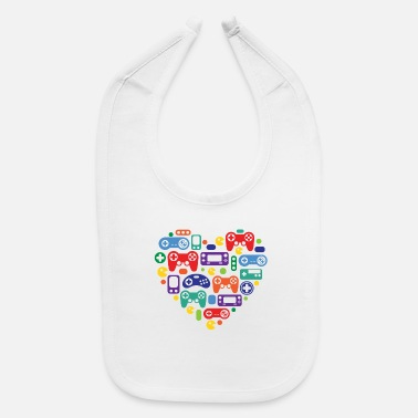 Video Games Video Game Love - Baby Bib