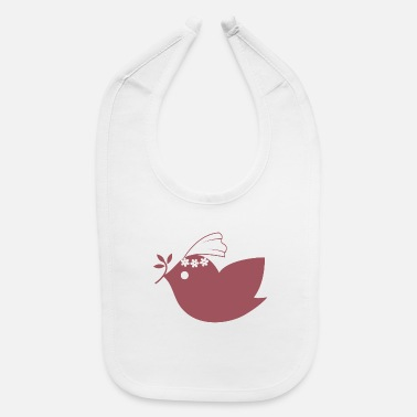 Bird Bird Birds Bird Wedding - Baby Bib