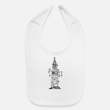leuchtturm lighthouse coast kueste ocean sea meer6 - Baby Bib