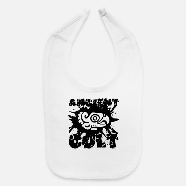 Cult Film Ancient Cult - Maya and Aztec - Cult - Baby Bib