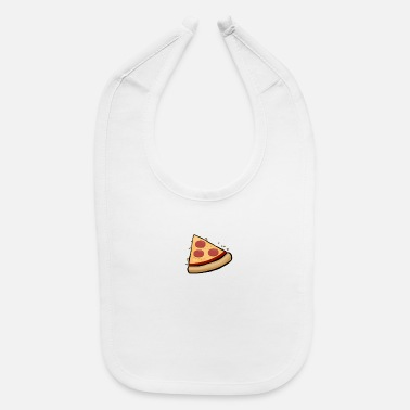 Pizza Funny Cute Pizza Slice Matching Shirt Couple Love - Baby Bib