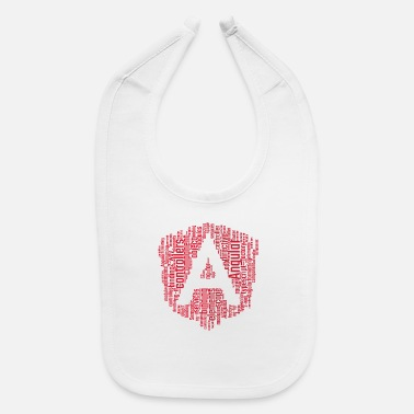 Keyword AngularJS WordCloud Premium TShirt - Baby Bib