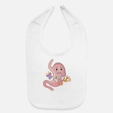 Butterflies In The Stomach Stomach with butterflies - Baby Bib