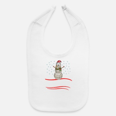 Christmas Season Christmas Volleyball 'Tis The Season - Baby Bib
