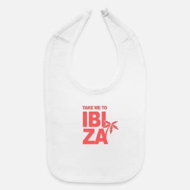 Vacation Holiday Summer Ibiza Island - Baby Bib