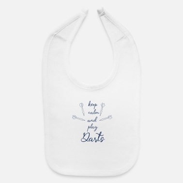 Dart Player - Baby Bib