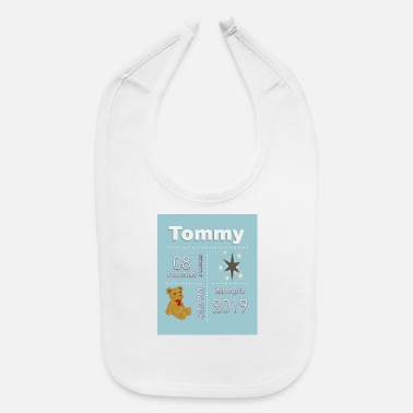 Date Of Birth Birth Date Shirts and accessories - Baby Bib