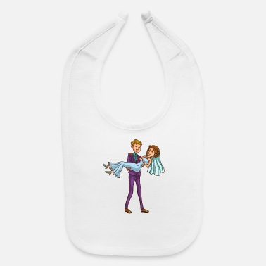 Couples Marriage wedding marriages marriage bride Couple celebrat - Baby Bib