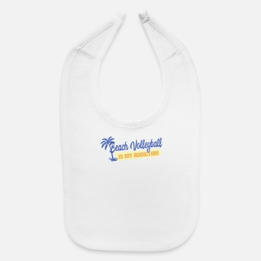 Beach Volleyball Beach volleyball beach-volleyball - Baby Bib