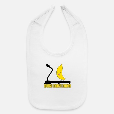 Running Run! Run! Run! - Baby Bib