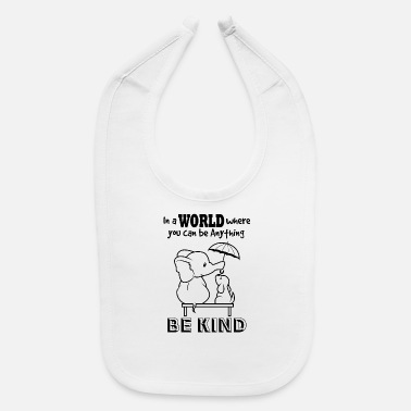 Dog Friendly Be Friendly - Baby Bib