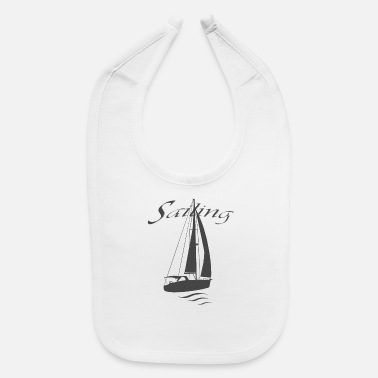 Sailing Yacht Relax For Life - Baby Bib