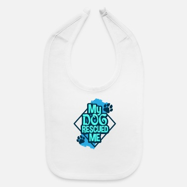 Rescue Dog Rescue Dog - Baby Bib