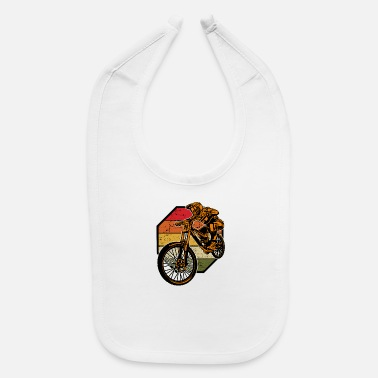 Sports MTB Mountain Bike Downhill Extrem Sport Gift - Baby Bib
