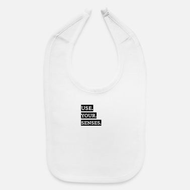 Use your senses - Baby Bib