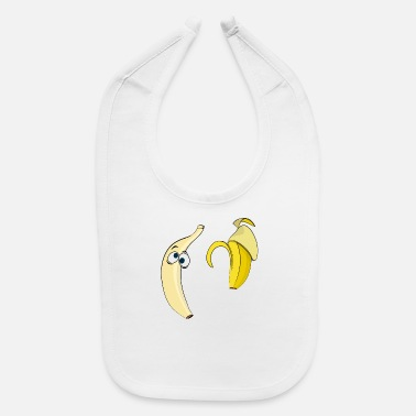 Strip Banana strip - Baby Bib
