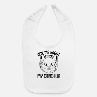 Rodent Chinchilla - Baby Bib