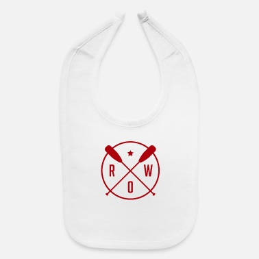 Rowing Row - Rowing - Baby Bib