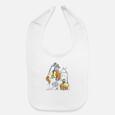 Don Quijote Don Quixote Comic - Baby Bib