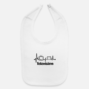 Television Television Heartbeat - Baby Bib