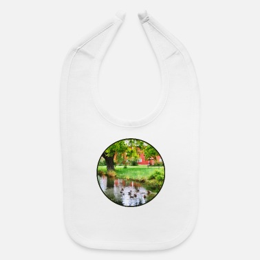Pond Ducks On Pond - Baby Bib