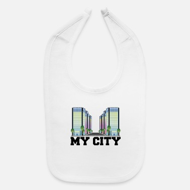 My City MY CITY - Baby Bib