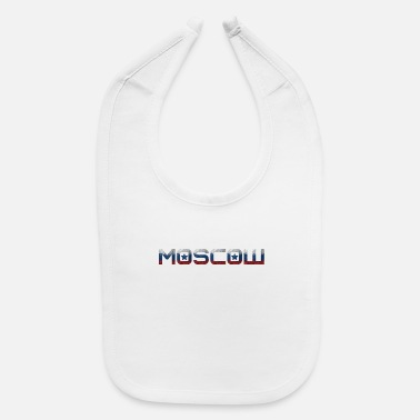 National Color Moscow - National Colors - Kremlin - Baby Bib