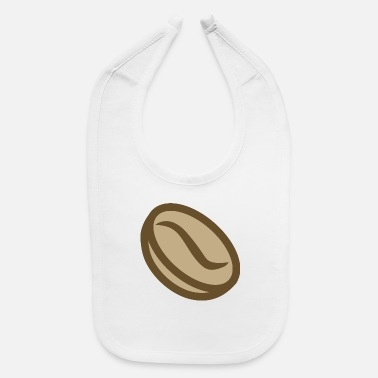 Coffee Bean Coffee bean - Baby Bib