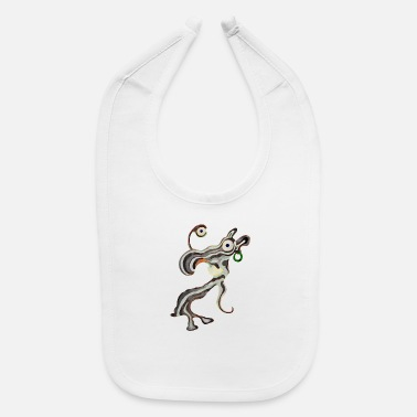 Illustration Caricature Tribal Gypsi Art Caricature Illustration 18 - Baby Bib