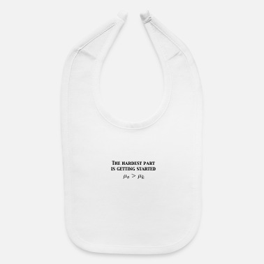 Physics Jokes Friction Physics Joke - Baby Bib
