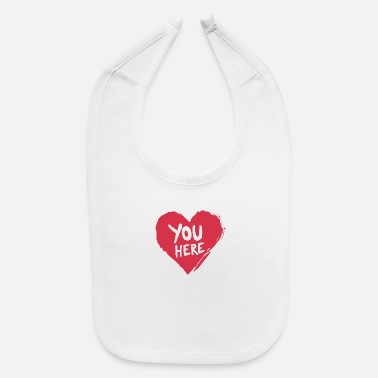 Gunther You here - Baby Bib