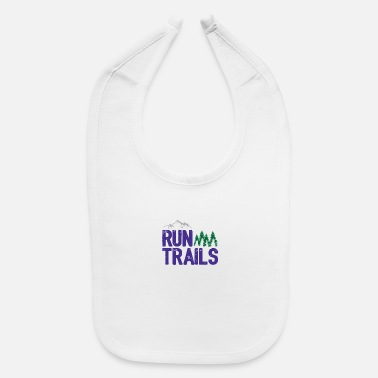 Trail Run Trails - Baby Bib