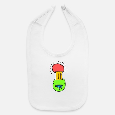 Mind Blowing Mind Blow Up, Comic, Explosion, gift, Art, Blow, - Baby Bib