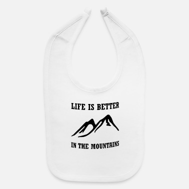 Life Is Better life is better - Baby Bib