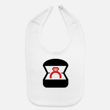 Bagu Wedding Ring (2c)++ - Baby Bib