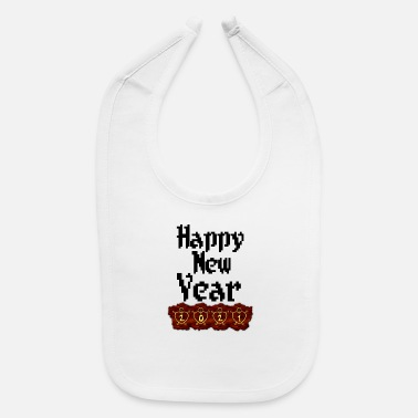 New Years New year happy new year - Baby Bib