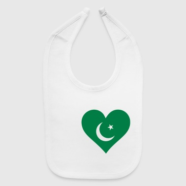 I Love Pakistan - Baby Bib