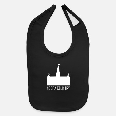 Country Koopa Country - Baby Bib