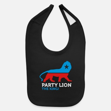 Animal Political Party Animals: Lion - Baby Bib