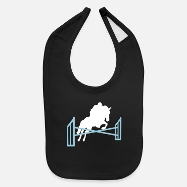 Show Jumping Show jumping - Baby Bib