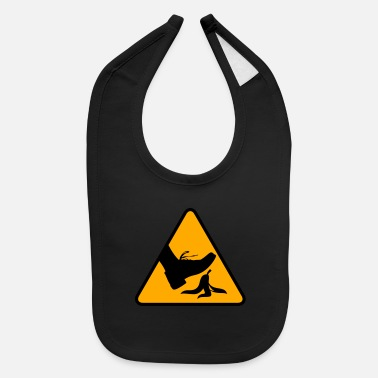 Slip Risk Of Slipping With A Banana - Baby Bib