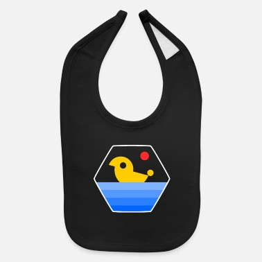 yellow duck - Baby Bib